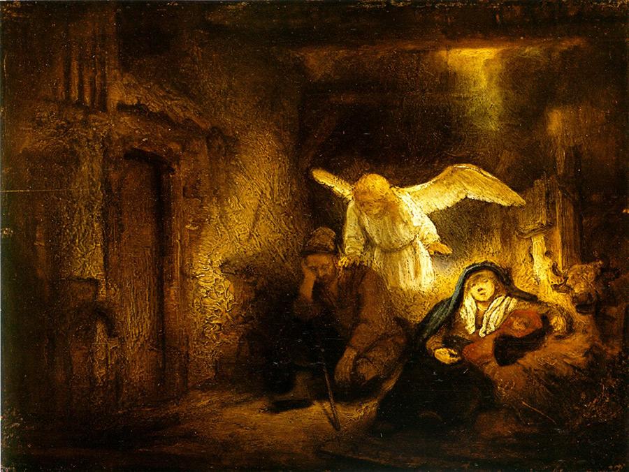 Joseph's Dream. Rembrandt. 1645-46.