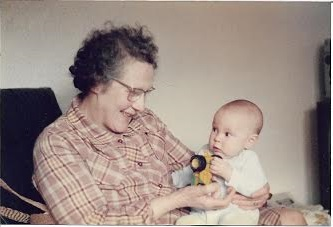Me and my grandmother Gwen