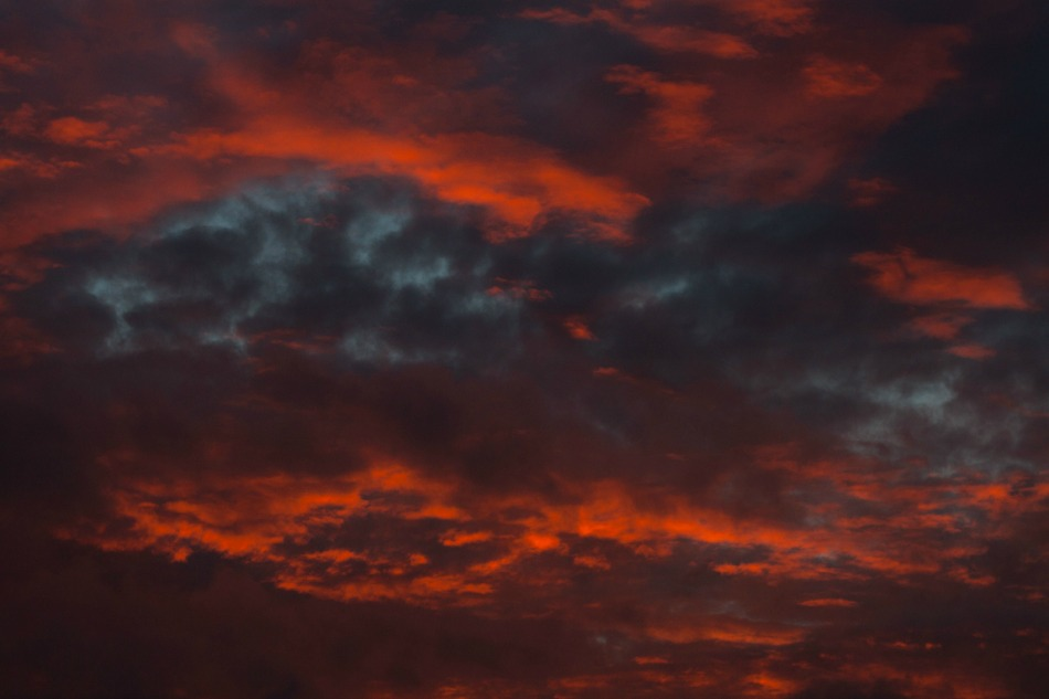red-sky-and-dark-clouds